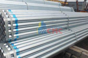 Thông tin giá thép ống mạ kẽm mới nhất năm 2021